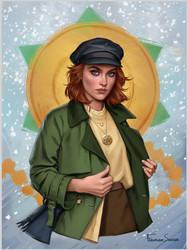 Anastasia by fdasuarez