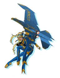 Navy Girl Aerial Demonstration Variant