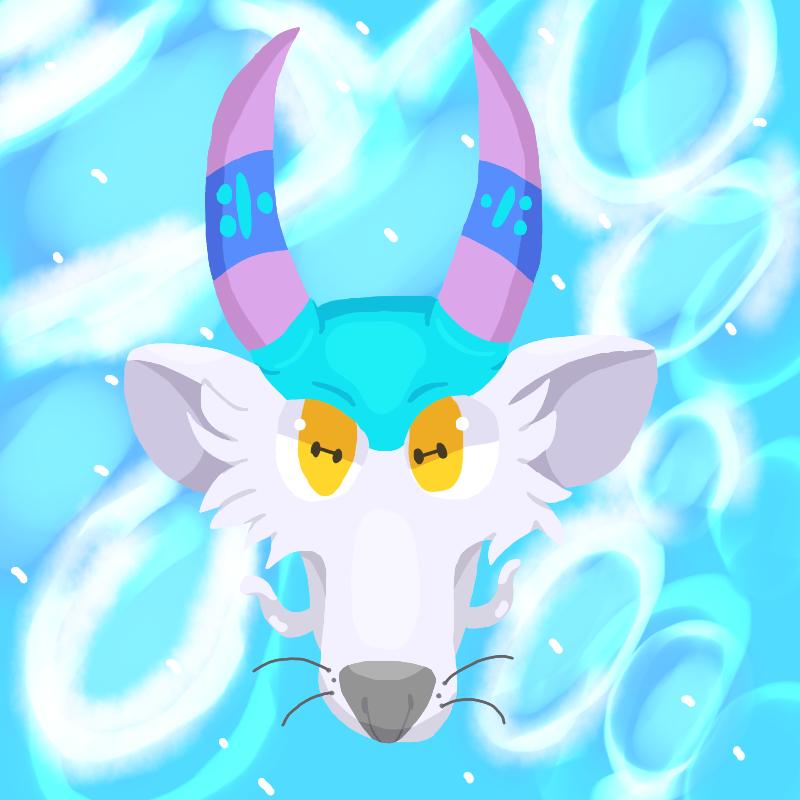 Cyan Face (Icon) by CyanDraggon