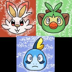 Gen 8 Starter Icons by Inkedpot