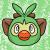 Grookey (Icon/Emote) by Inkedpot