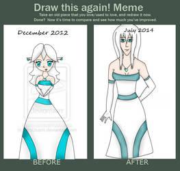 Draw it again: Lyndsay by FearMyPiplup