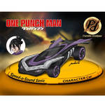 One Punch Man- Speed-O- Sound Sonic Character Car
