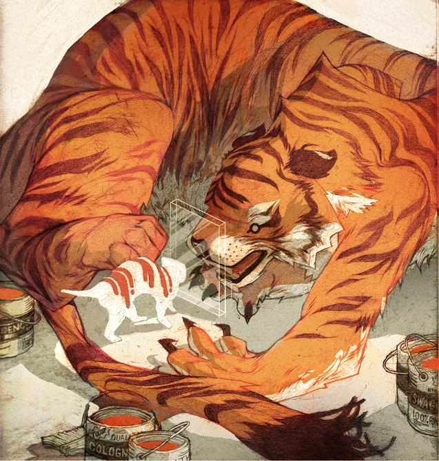 Paper Tiger by contraomnes