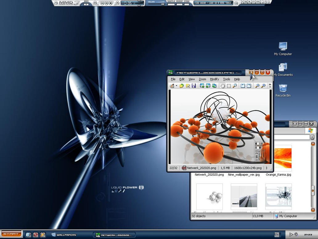 My Devious Desktop by sticky