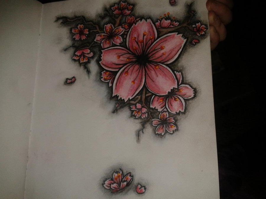 Cherry blossom tattoo possibility by tahjoytaradactyl on deviantart cherry blossom tattoo possibility by tahjoytaradactyl urmus Gallery