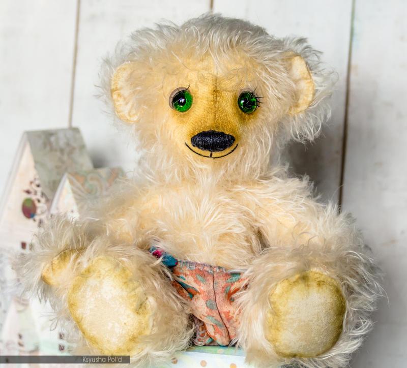 Teddy Bear OOAK Mohair Artist Teddy Bear by Leopoldovna