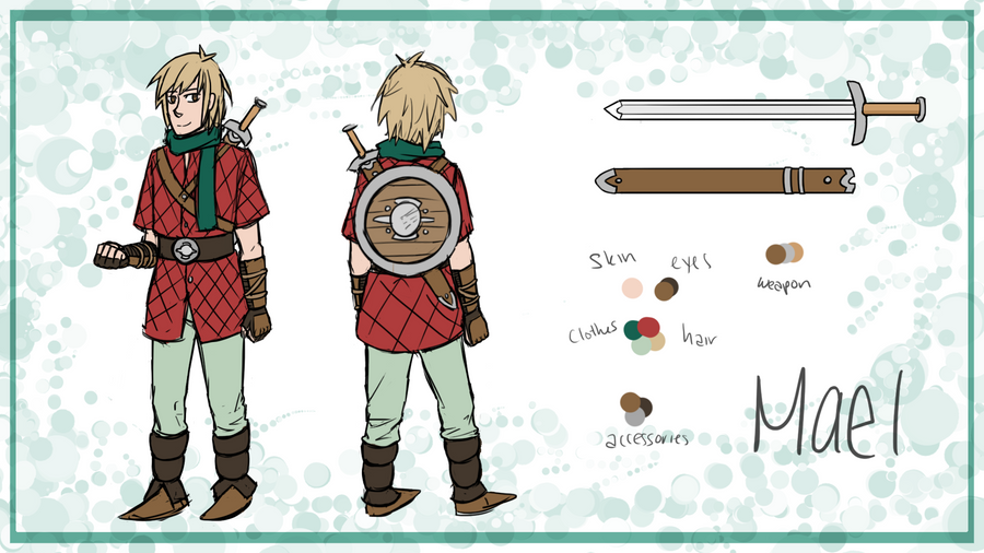 Mael Reference Sheet by Mr-Sage