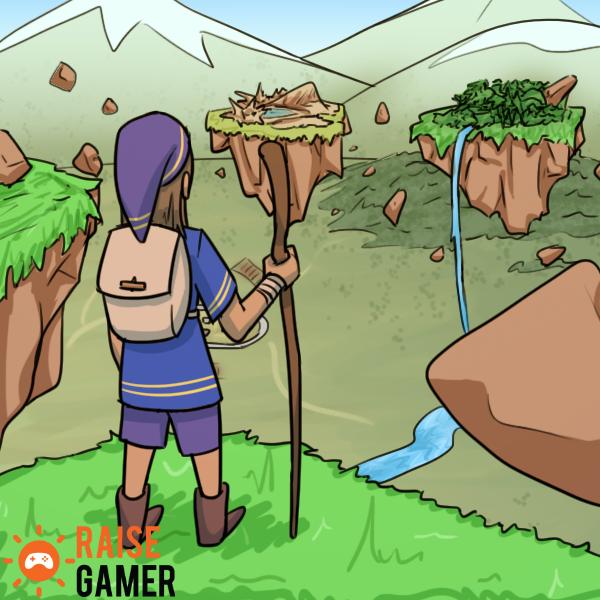 Raise Gamer - Adventure by Mr-Sage