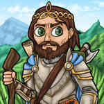 Daily Drawing #9 - Hiking High King Emeric by Mr-Sage
