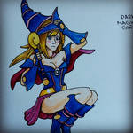 Daily Drawing #28 - Dark Magician Girl by Mr-Sage