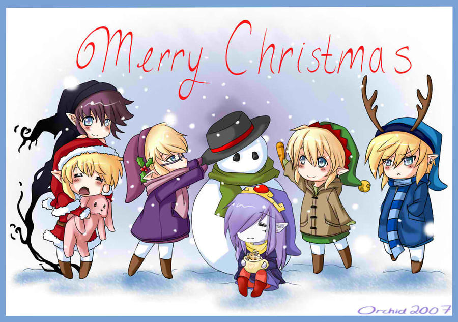 Merry Christmas by blackorchid2007