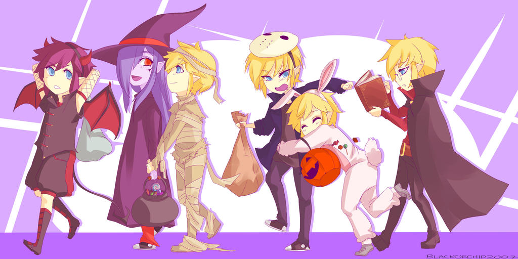 Trick Or Treat by blackorchid2007