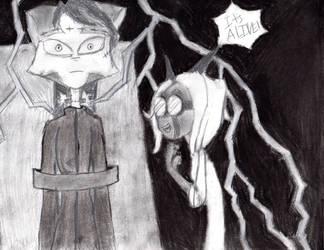 Frankenstein's Sister by nicolechar