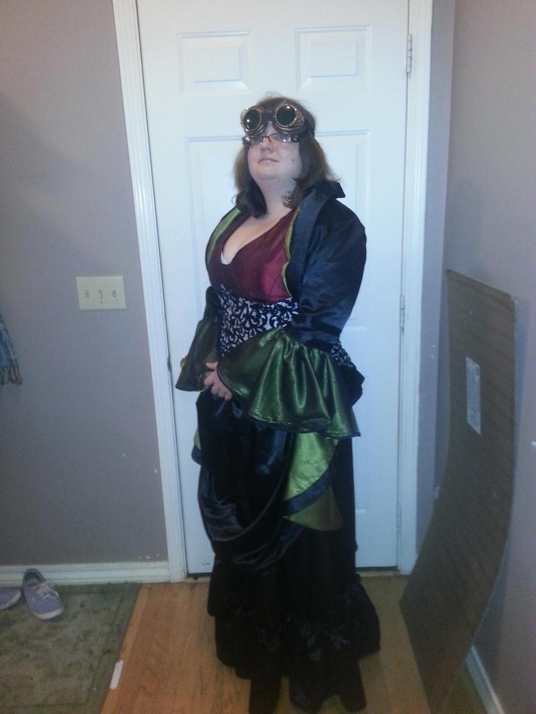 Steampunk Evening Wear by nicolechar