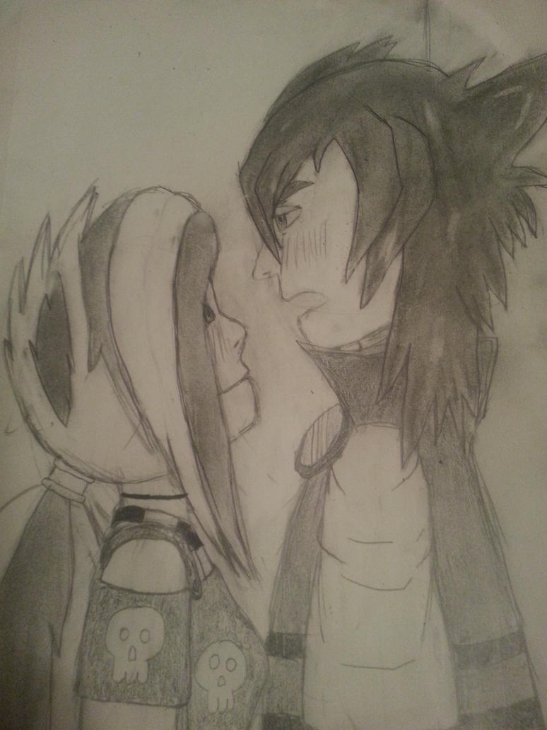 Satoshi and Vienne by nicolechar