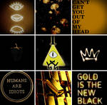 Bill Cipher Moodboard