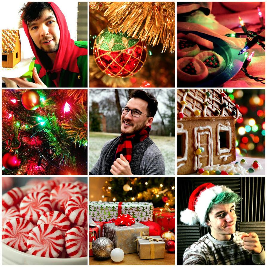 Christmas Wallpaper Aesthetic: YouTubers Christmas Aesthetic By ClanWarrior On DeviantArt