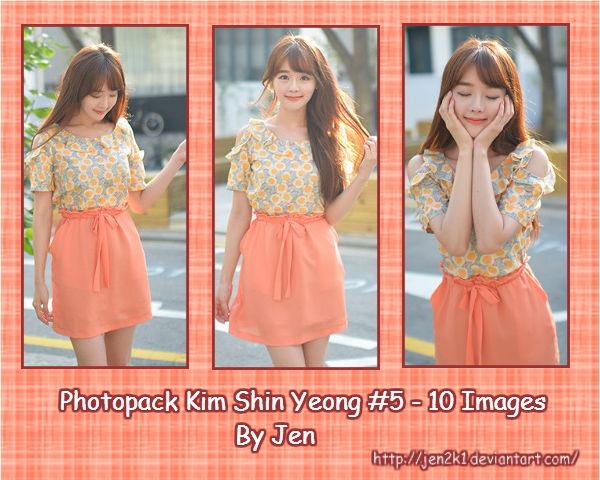 Photopack Kim Shin Yeong #5 By Jen by jen2k1