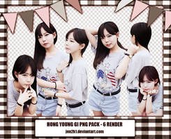 [pack Png] Hong Young Gee #2 by jen2k1