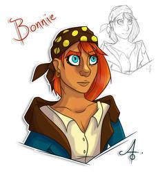 Bonnie by HauntedMarshmallow