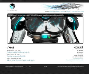 JK Studios v.3 website