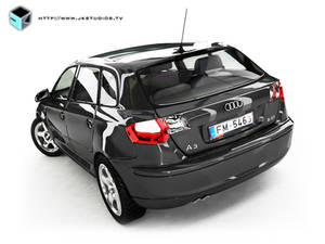 Audi A3 - 3ds Max - Vray - 2