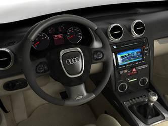Audi A3 model interior - 02