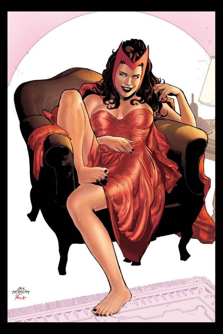 Scarlet Witch Color Version by JacksonHerbert