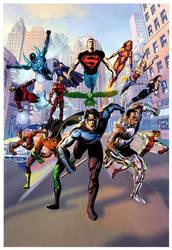 The Titans by JacksonHerbert