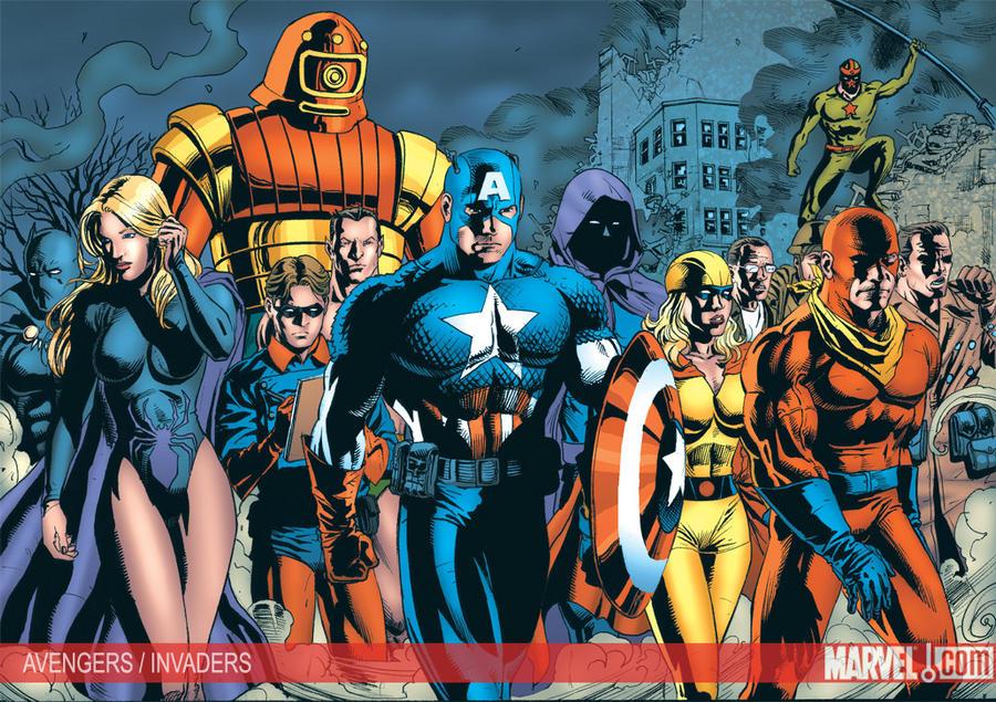 Avengers Invaders Teaser By JacksonHerbert