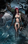 Red Sonja: Colored Art 01