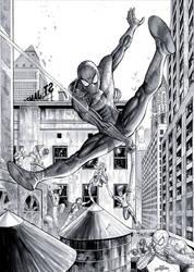 Spider Man - Commission by JacksonHerbert