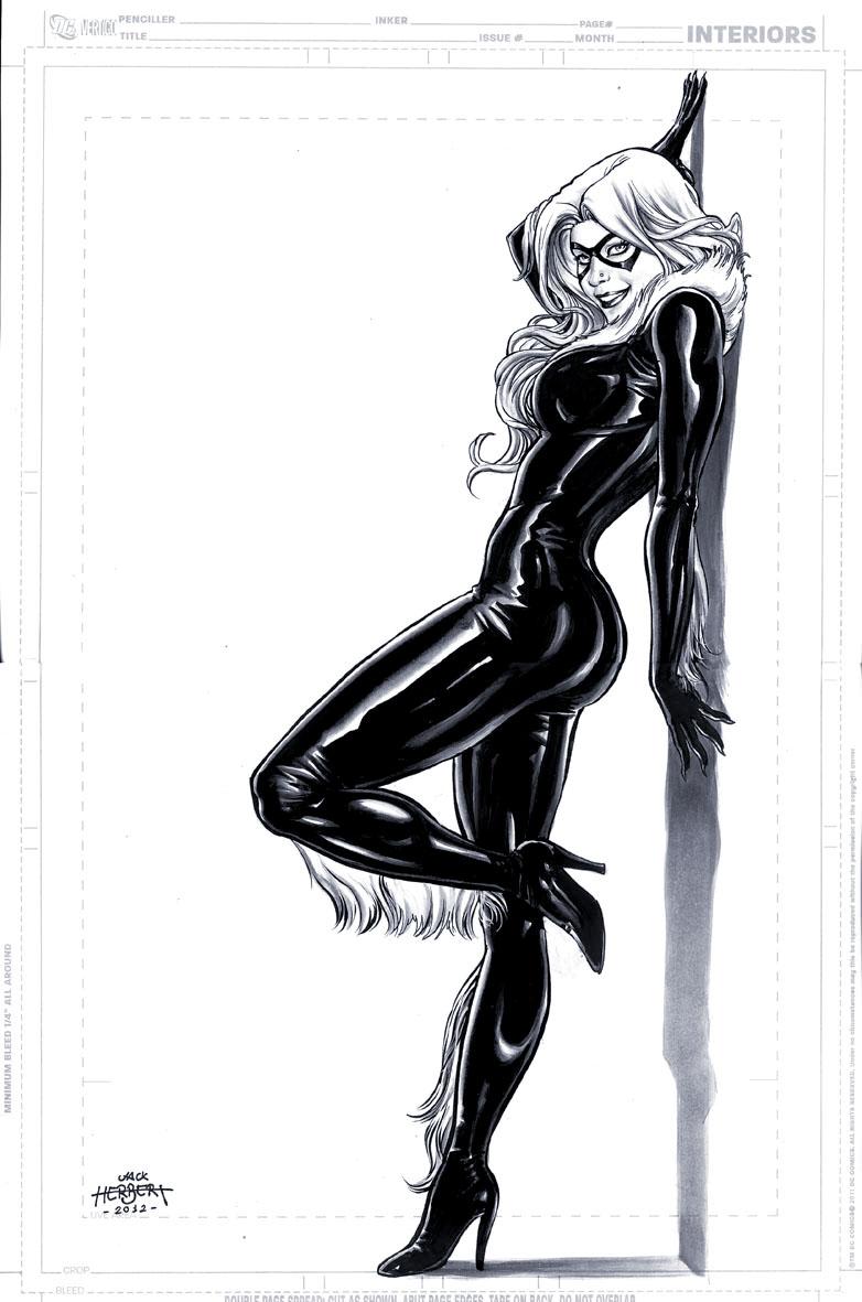 Black Cat by JacksonHerbert