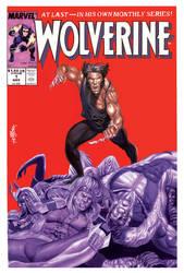 Wolverine (acrylic paint)