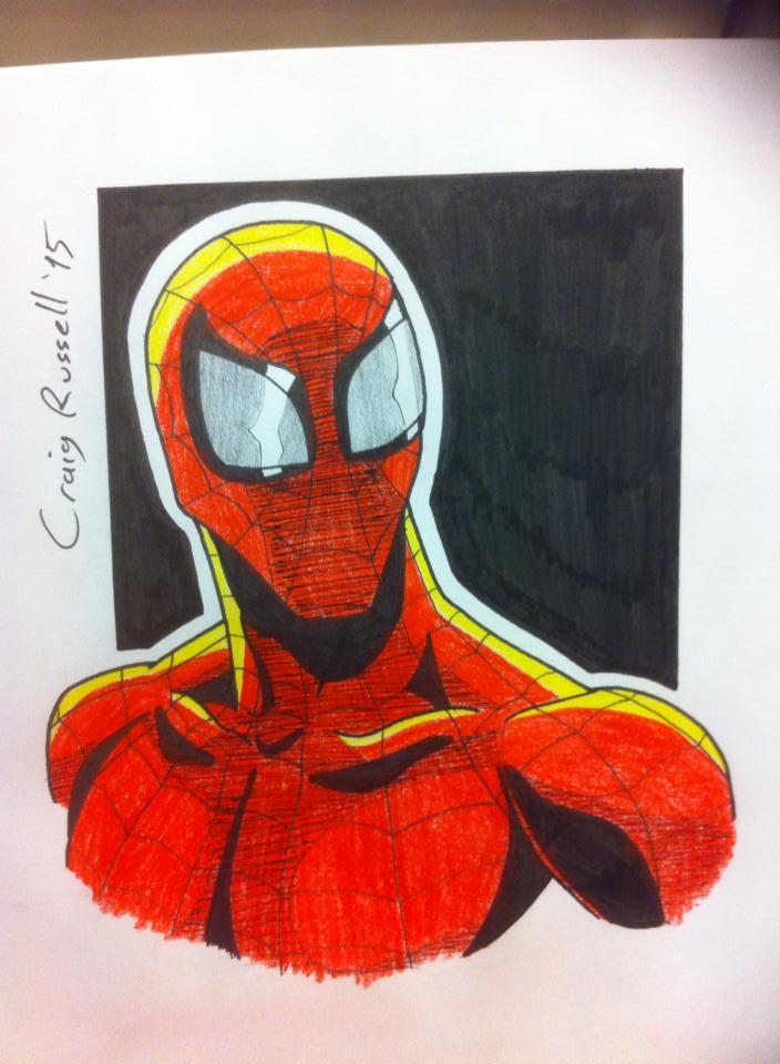 Spiderman by rustymuldoon