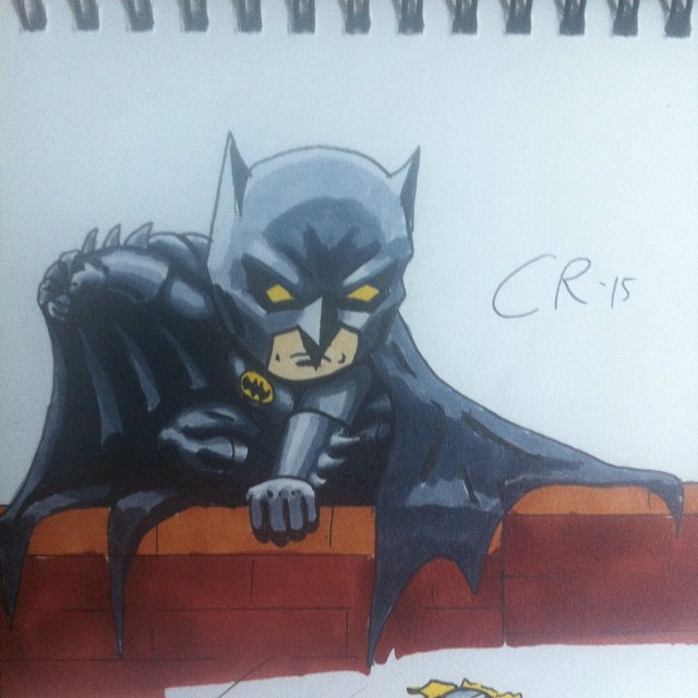 Little Batman by rustymuldoon