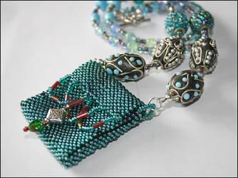 ICaptredTheSeas Amulet Necklce by NoraBlansett