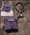 Purple Magic Amulet Bag