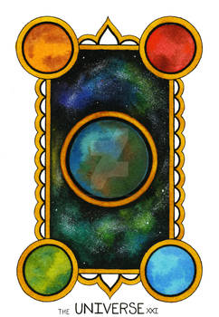 The Universe Tarot Card
