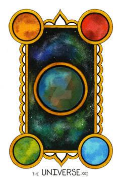 The Universe Tarot Card