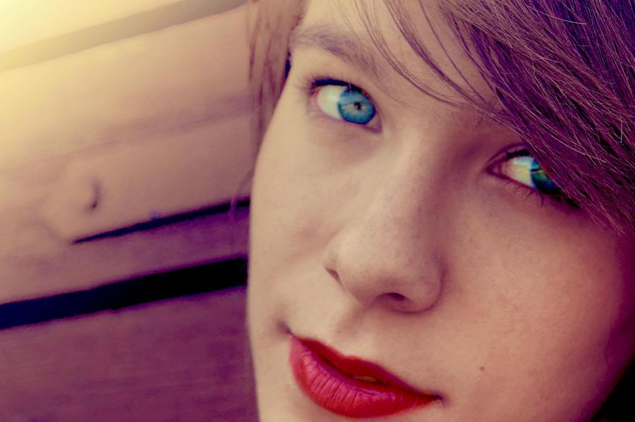 Blue Eyes by PSujka