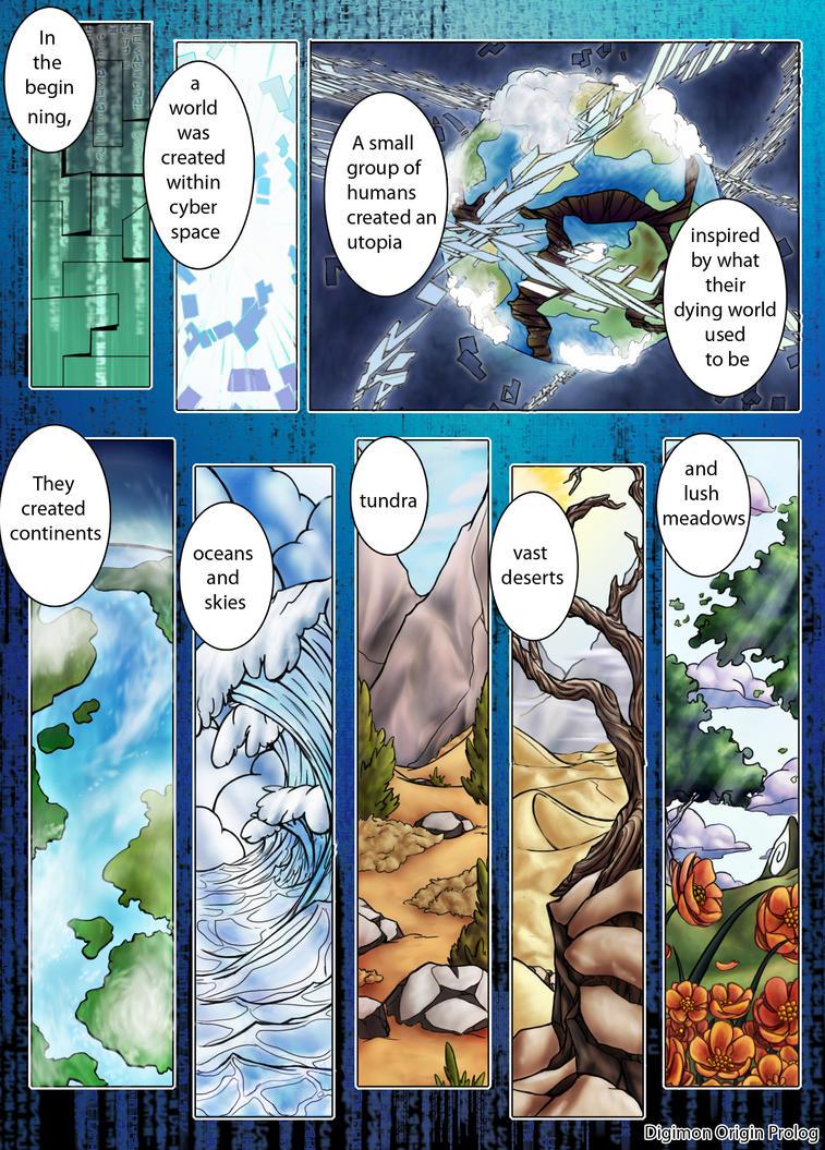 Digimon Origin: Prolog by oOCrystalOo
