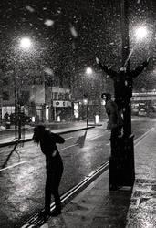 first snow in UK by ZNZtazmanijus