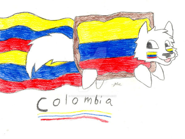 GOOOO COLOMBIA! by Wolfspiritofrain