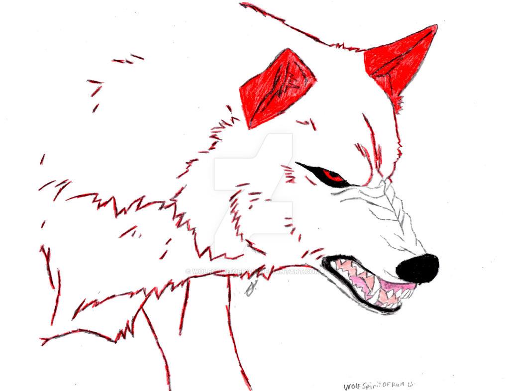 I'm going to destroy you by Wolfspiritofrain