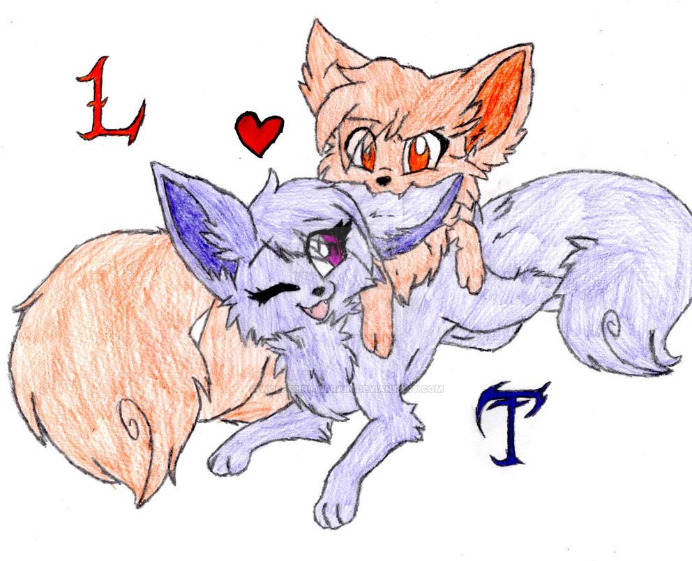 L + T by Wolfspiritofrain