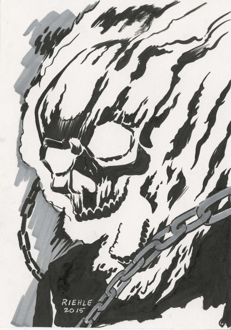 Ghost Rider by NeilRiehle