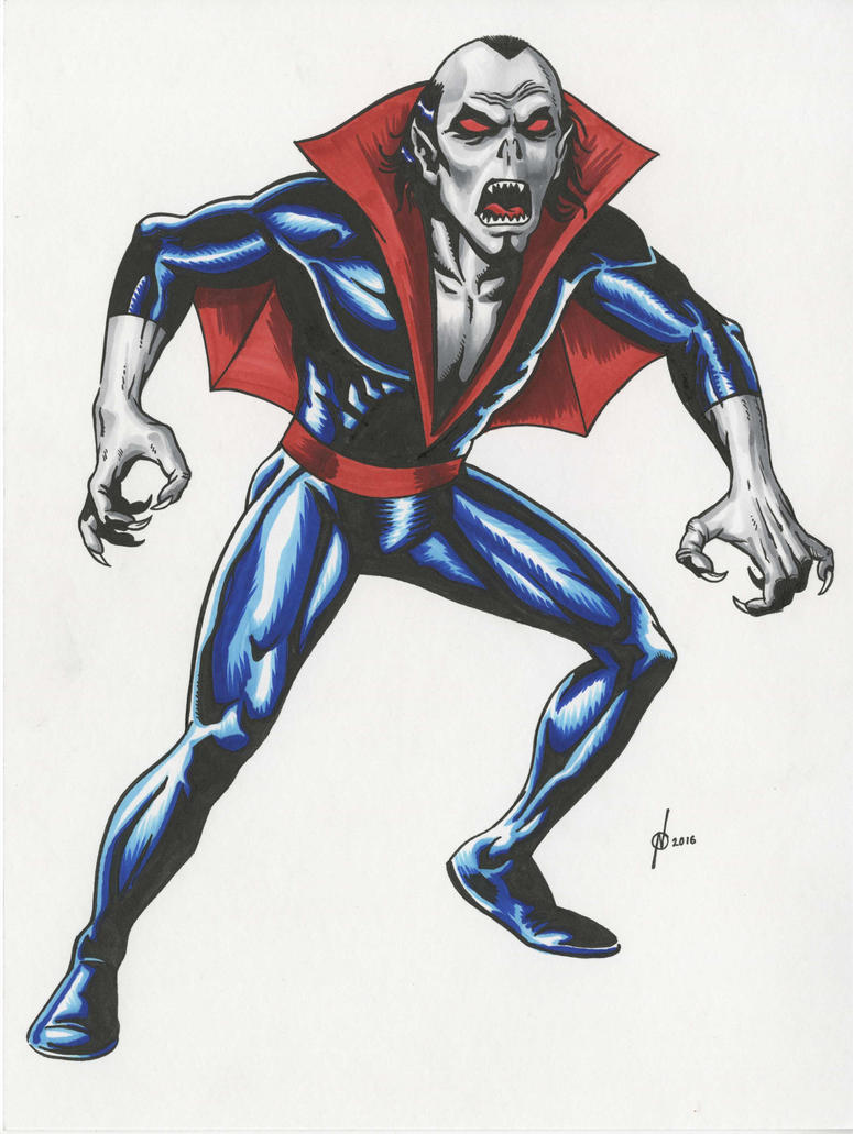 Morbius Color by NeilRiehle