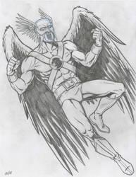 Hawkman Pencil Sketch